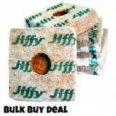 BULK BUY DEAL 4 Inch Jiffy Coco Cubes x 50